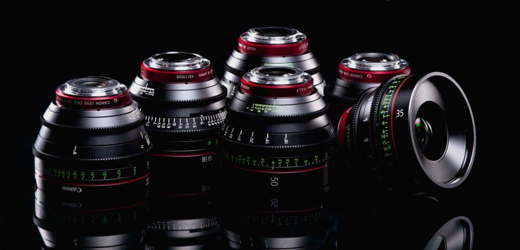 Canon Cn E Cinema Prime 6 Lens Kit Canada Film Equipment