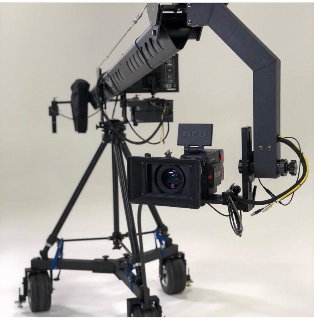 Jimmy Jib Triangle Crane Canada Film Equipment