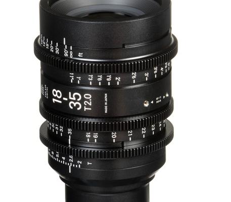 Sigma 18 35mm T2 Zoom Lens Pl Canada Film Equipment