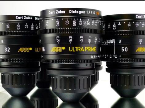 ARRI/Zeiss Ultra Primes Lens Kit – Canada Film Equipment